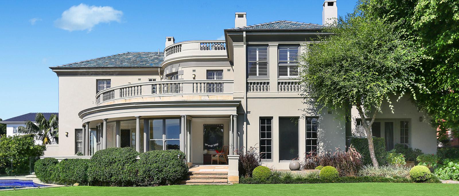 luxury mansion in Sydney