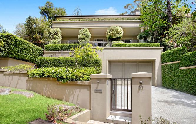beautiful mansion in Sydney
