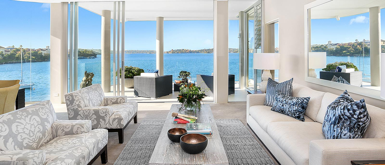 luxury property with premium water views in Sydney