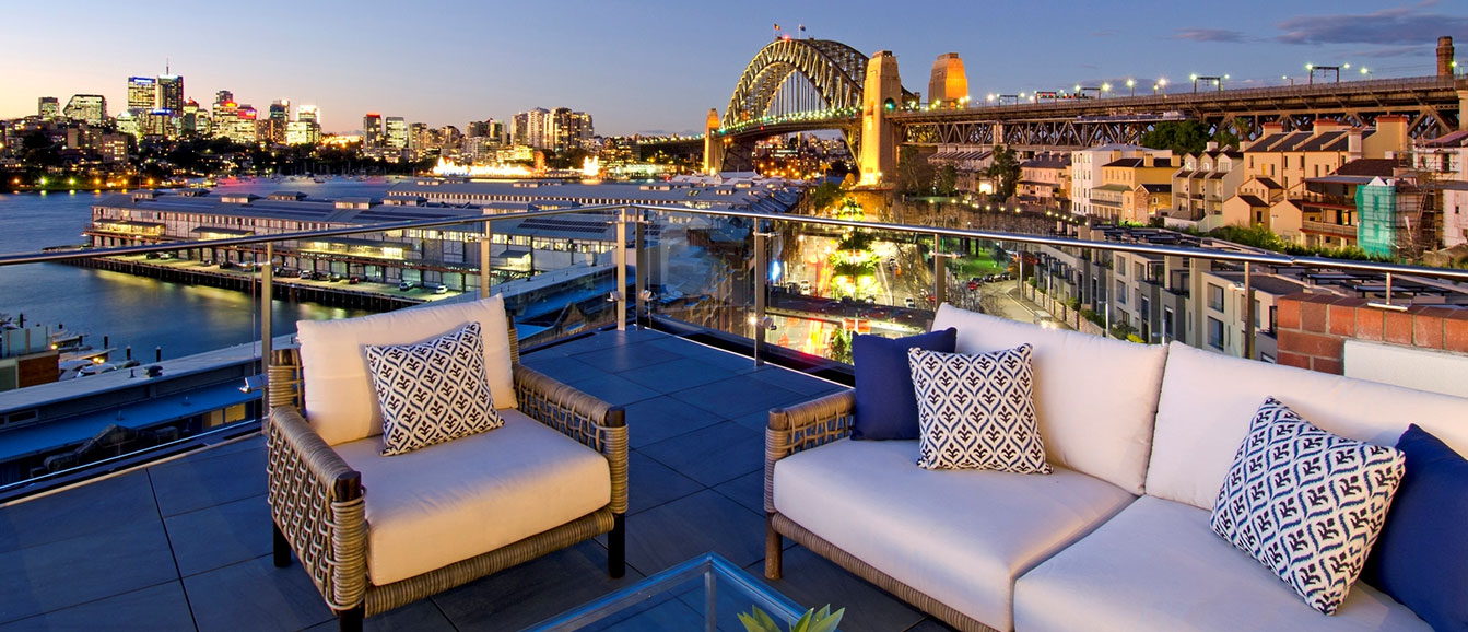 sydney harbour luxury penthouse