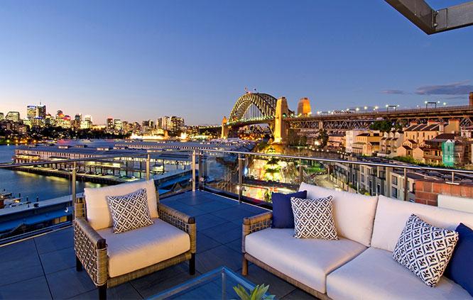 sydney harbour luxury property penthouse
